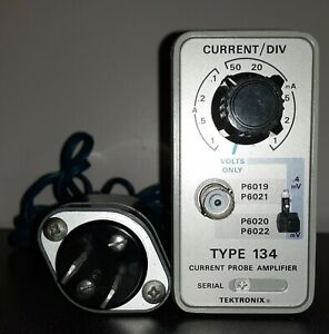 Tektronix Type 134 Current Probe Amplifier With Power Supply