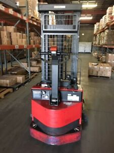 2013 Raymond Rss40 Electric Walkie Stacker pallet Stacker Forklift
