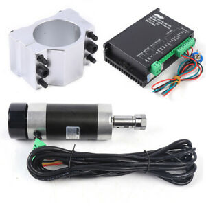 Er16 Dc 48v Brushless Spindle Motor 500w High Speed Air Cooling Driver Power