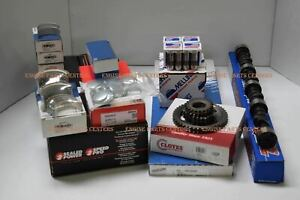 Stage 4 Master Engine Kit 22cc Dome Pistons cam 510 Lift For Chevy 454 1986 90