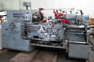 American Pacemaker 14 X 30 Manual Engine Lathe 7 5hp