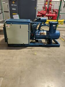 Used Quincy 60 Hp Rotary Screw Air Compressor 480 Volt