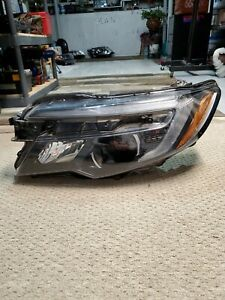 2016 2017 2018 2019 Honda Pilot Ridgeline Lh Driver Side Led Headlight Oem