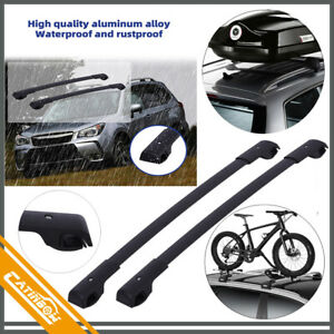 For 14 19 Subaru Forester Impreza Luggage Rack Roof Rack Rail Set Luggage Rack