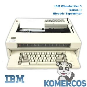 Ibm Wheelwriter 3 Series Ii Electric Typewriter