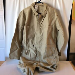 Banox Coverall Safety Flame Arc Flash Resistant Welding Shop Tan Jumpsuit 3xl 5x