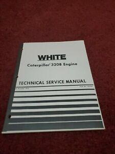 White Caterpillar 3208 Engine Service Manual