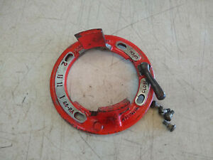 Ridgid 65 r Pipe Threader 1 To 2 Part Drive Plate Part 39215
