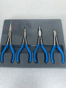 Blue Point Bluepoint As Sold By Snap On 4 Piece Plier Set Bdgpl400lmp