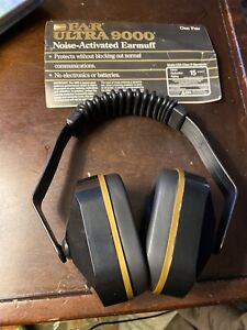 Vintage E a r Ultra 9000 Ear Muffs Hearing Protection