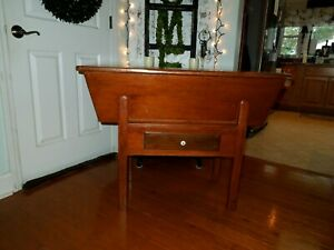 Primitive Wooden Dough Table very Nice