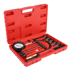 For Tdi Cdi Diesel Engine Compression Tester Diagnosis Test Pressure Gauge Kit