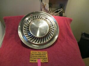 1959 1960 Ford Thunderbird Galaxie Fomoco Hubcap 14 Inch Free Priority Shipping