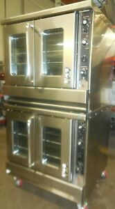 Montague Double Convection Oven Natural Gas