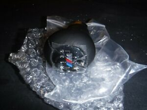 Bmw E46 Weighted Zhp Shift Knob Leather 25117896031 5 Speed Oem Brand New