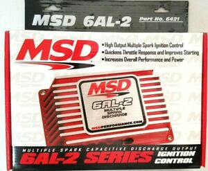 Msd 6421 6al 2 Series Ignition Digital Built In 2 Step Sbc Bbc Sbf Chevy Ford