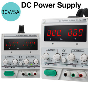 Ps 305dm 30v 5a Variable Linear Dc Power Supply Switching For Lab Equipment Fda