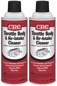 Crc Throttle Body Air Intake Cleaner 12 Wt Oz 2 Pack Crc05078 2pk