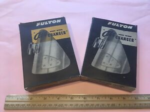Nos Vintage Original Fulton Pair Box Only Chevy Gm Accessory 40s 50s Lowrider 39