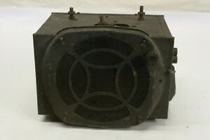 Vintage 1930 S Am Radio Power Unit Speaker Assembly Ford Chevrolet Mopar Oem