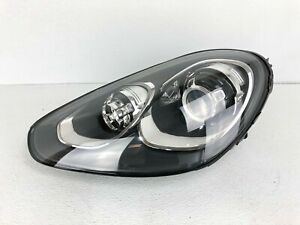 Nice 16 17 18 Porsche Cayenne Lh Drivers Left Side Hid Xenon Headlight Oem