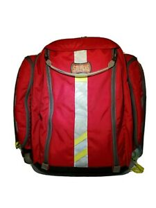 Red Statpacks G3 G1 Breather Paramedics Medic Ems Airway Oxygen Als Bag Backpack