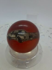 Vintage Car Truck Steering Wheel Brody Knob With Vehicle Inside Two Tone Color