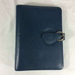 Leather Classic Franklin Covey Planner Binder Magnetic Flap Snap Buckle