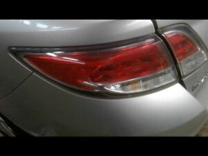 Driver Tail Light Bulb Type Quarter Panel Mounted Fits 09 13 Mazda 6 645761