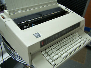 Ibm Wheelwriter 3 Office Typewriter All Tested Cleaned Lubed 674x Elite ribbon