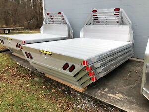 Aluminum Truck Flat Beds Long And Short Bed