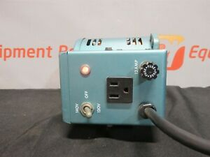Staco 3pn1010 Variable Transformer Fused Switched Autotransformer