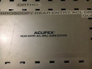 Acufex Acl Rear Entry Drill Guide System