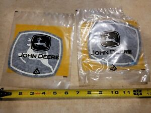 2 John Deere Emblem Stickers approx 5 1 2 5 Inches