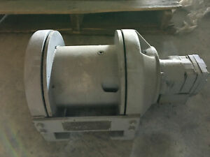 Kinematics Planetary Hydraulic Winch P5 cc 05 1 5000 Lbs Line Pull Never Used