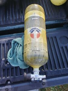 Survivair 30 Min 2216 Psig Scba Carbon Tank Cylinder 2007 Tested In 03 18