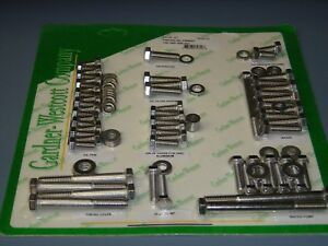 Pontiac 350 389 400 421 455 Ho Engine Bolt Kit