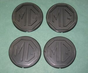 Mgb Le Road Wheel Centre Badge Set 4 Mgb Bmc Bhh1994 Cha747