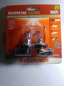 Sylvania Silverstar Ultra 9005 65w Two Head Light Bulbs For Ultra Night Vision