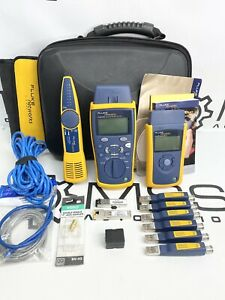 Fluke Networks Cable Iq Ciq gsv Gigabit Service Kit Linkrunner Duo Intellitone