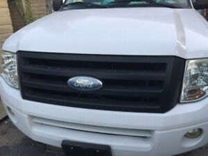 2007 2014 Ford Expedition Grille Matte Black Genuine Oem Grill