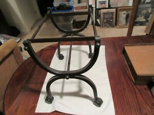 Metal Rolling File Cart On Wheels Black 19 x14 x19 Vintage