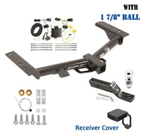 Trailer Hitch Package 1 7 8 Ball Cover For 2015 2020 Ford Transit 150 250