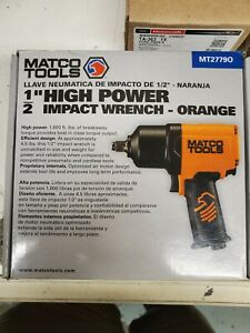 Matco Tools 1 2 Inch Impact Wrench