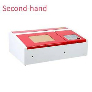 Secondhand Upgrade 40w Co2 Usb Laser Engraving Cutting Machine 300x200mm