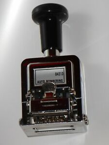Automatic Numbering Stamp Machine