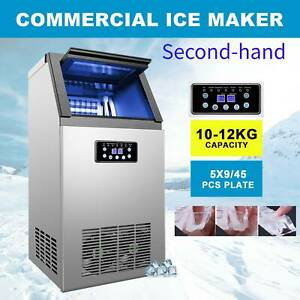 Secondhand Built in Portable Auto Commercial Ice Maker For Restaurant Bar 110lb