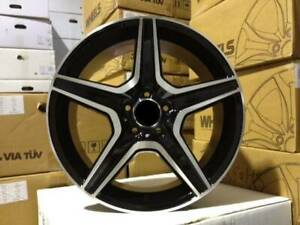 New 17 Amg Black Wheels Fits Mercedes Benz Set Of 4