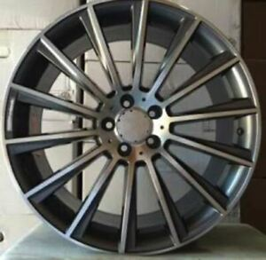 17 Grey Rims Wheels Fits Mercedes Benz E Class E350 E400 E250