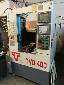 Titan Cnc Mill Drill Tapping Center With Fanuc Control